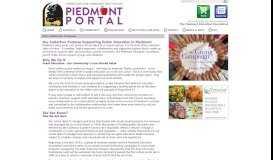 Our Collective Purpose   Piedmont Portal