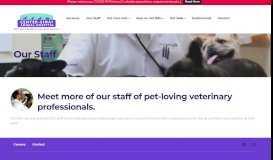 Our Staff - Center-Sinai Animal Hospital