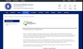 Parent Connect / Parent Connection / Parent Portal - Glendale