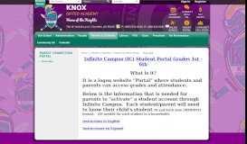 Parent Connection Portal / Overview - Chandler Unified School District