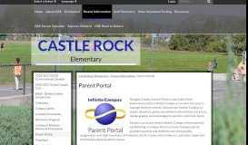 Parent Portal - Castle Rock Elementary