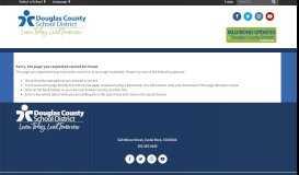 Parent Portal FAQ - Douglas County School District