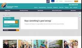 Parent Portal - Farnborough College of Technology