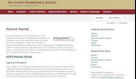 Parent Portal / Information - Gwinnett County Public Schools