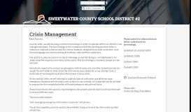 Parent Portal Instructions for Infinite Campus – Parents – Sweetwater ...