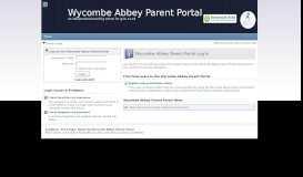 Parent Portal Login