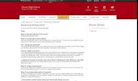 Parent Portal / Welcome - Liberty Union High School District