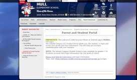 Parent Resources / Student & Parent Portal - Online Grades