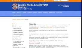 Parents - Canutillo Middle School
