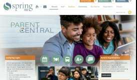 Parents / Homepage - Spring ISD
