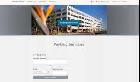 Parking Services: California State University Fullerton