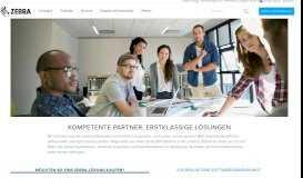 Partner suchen   Zebra - Zebra Technologies