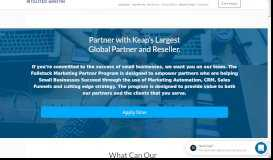 Partner With Us – Become an Infusionsoft Certified Consultant (ICC) or ...