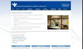 Patient Forms & Information - Rockland Pulmonary & Medical Associates