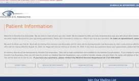Patient Information   Patient Forms   Houston Eye Associates