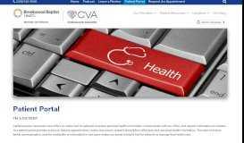Patient Portal | Cardiovascular Associates