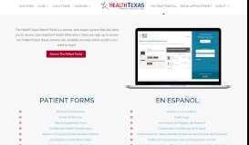 Patient Portal | HealthTexas | Best Primary Doctors in San Antonio