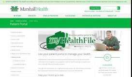 Patient Portal - Marshall Health