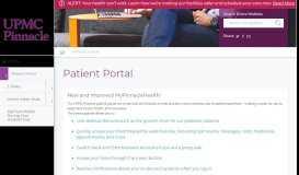 Patient Portal   MyPinnacleHealth - UPMC Pinnacle