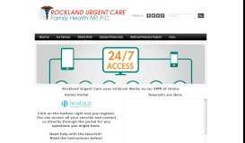 Patient Portal - Rockland Urgent Care Family Health NP, P.C.