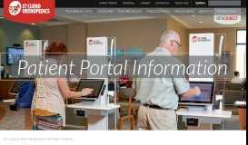 PATIENT PORTAL - St Cloud Orthopedics