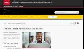 Patient Portal   UM Charles Regional Medical Center
