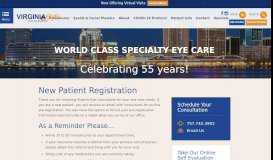 Patient Registration - Virginia Eye Consultants