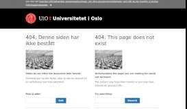 Pay slips in the HR portal - For employees - University of Oslo