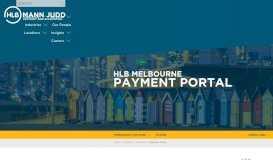 Payment Portal   HLB Mann Judd