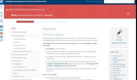 Payments | DSHS