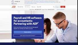 Payroll and HR Software for Accountant Partners - ADP