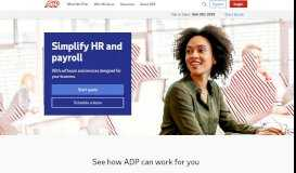 Payroll, HR and Tax Services | ADP Official Site