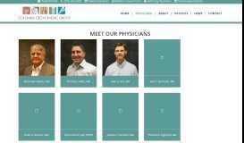 Physicians - Columbia Orthopedic Group