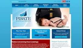 Pirate Pediatrics | Greenville, NC Pediatricians