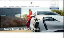 Porsche Connect - Porsche Deutschland