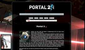 Portal 2 Chapter 7: The Reunion Walkthrough / Central Pump Station ...