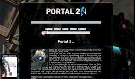 Portal 2 Chapter 9: The Part Where He Kills You Walkthrough ...