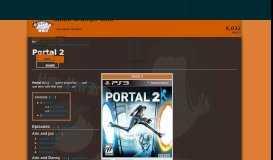 Portal 2 | Game Grumps Wiki | FANDOM powered by Wikia