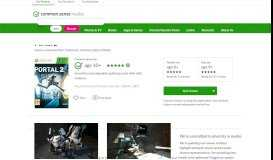 Portal 2 Game Review - Common Sense Media