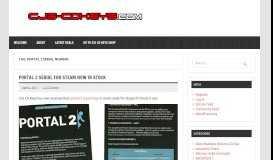 portal 2 serial number – CJS CD Keys Blog – Discounted Steam Keys ...