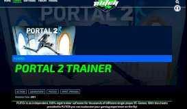 Portal 2 Trainer + Cheats - MegaDev