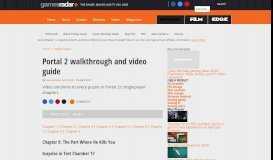 Portal 2 walkthrough and video guide: Page 9 | GamesRadar+