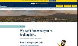 Portal - Center for International Education - Northern Arizona University