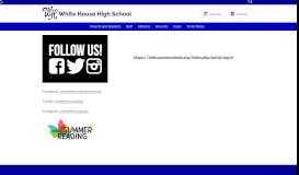 Portal Log-In - White House High School - Sumner County Schools
