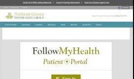 Portal - Northeast Georgia Physicians Group