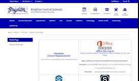 Portal Page / Student Portal Page - Brighton Central School District