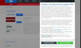 Portal Vias - Iniciativa - Magazines - RTP