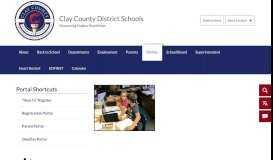 Portals - Clay County School District