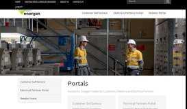 Portals - Energex