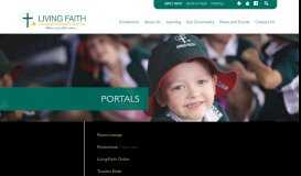 Portals | Living Faith Lutheran Primary School